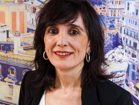 La periodista Cristina Del Olmo, pregonera de la Semana Santa de Barbastro 2020.
