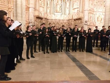 Concierto del Coro de Cámara del Conservatorio superior de música de Aragón