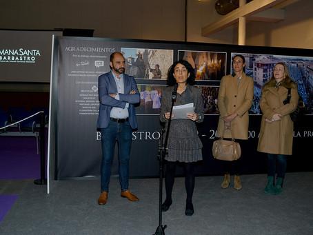 Inauguración de la Exposición de Pasos e Imágenes de la Semana Santa de Barbastro