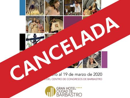 Cancelada la Exposición de Pasos e Imágenes de la Semana Santa como prevención frente al COVID-19