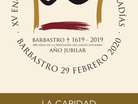 Barbastro acogerá el XV Encuentro Diocesano de Cofradías de la Diócesis Barbastro-Monzón.