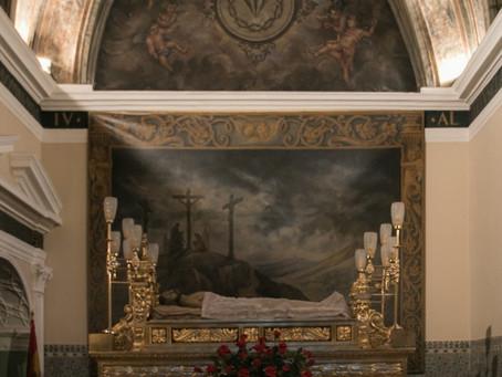 Colabora en la adquisición de una nueva talla del Cristo Yacente