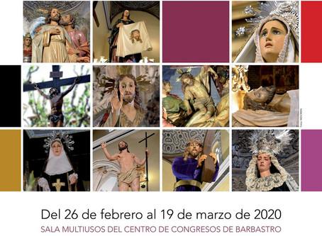 Gran exposición de los Pasos e Imágenes de la Semana Santa de Barbastro