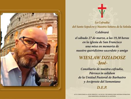 Misa en memoria de D. Wieslaw Dziadosz
