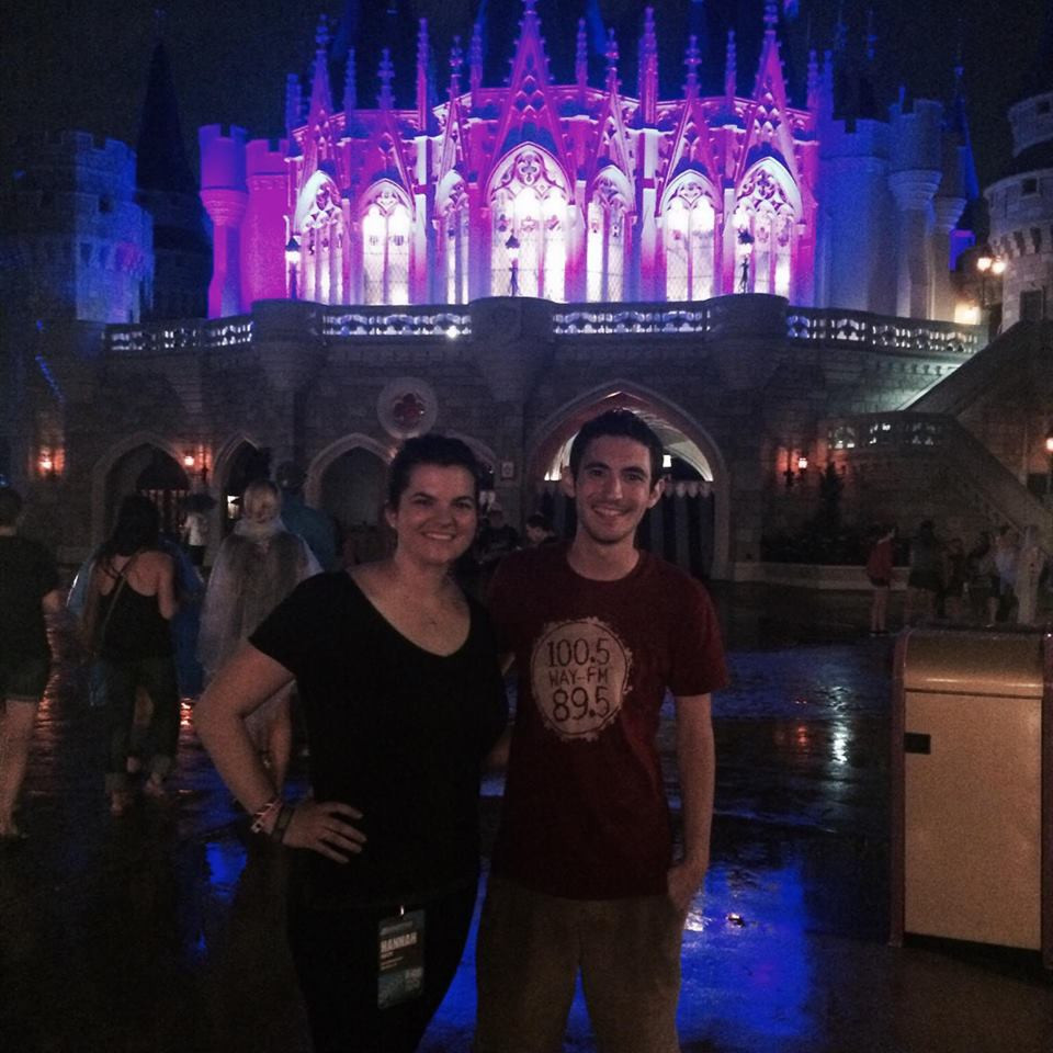 Second time at Disney....and I'm drenched.