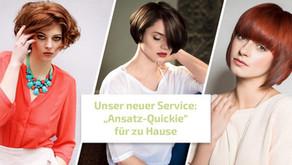 """Unser neuer Service: """"Ansatz-Quickie"""" für zu Hause"""