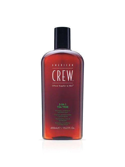 CREW 3IN1 TEA TREE 15.2oz/450ml