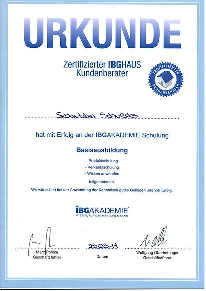 Zertifitkat ausgebildeter Immobilienbewerter Ansbach