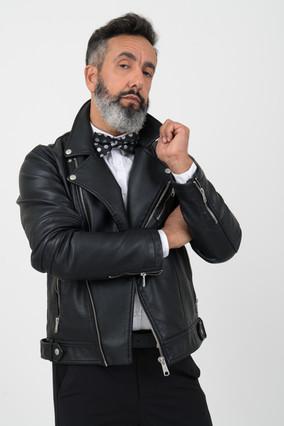 adult-black-leather-jacket-bow-tie-10366
