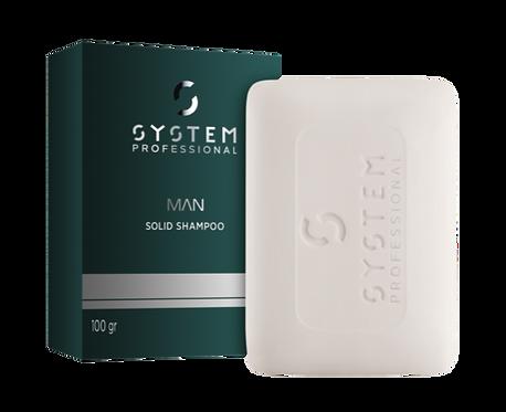 SYSTEM MAN SOLID SHAMPOO 100g- 100 G