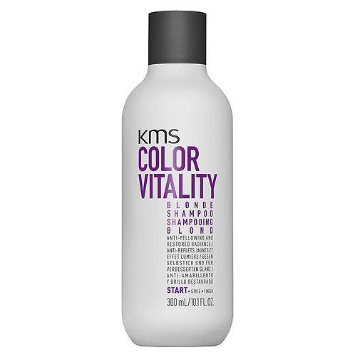 KMS Color Vitality Blonde Shampoo 300ml
