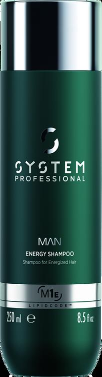 SYSTEM MAN Energy Shampoo- 250 ml