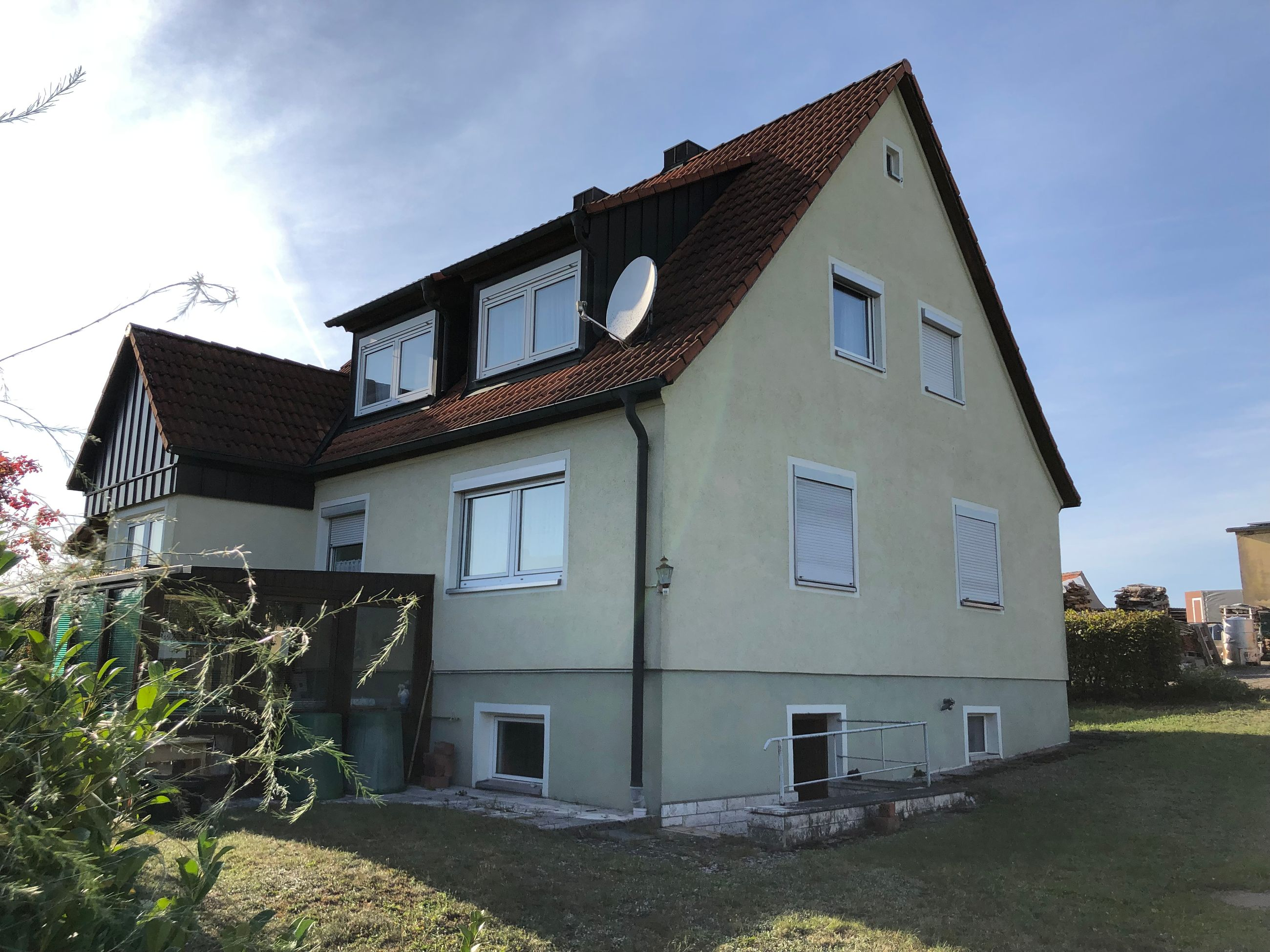 Einfamilienhaus in Dentlein am Forst