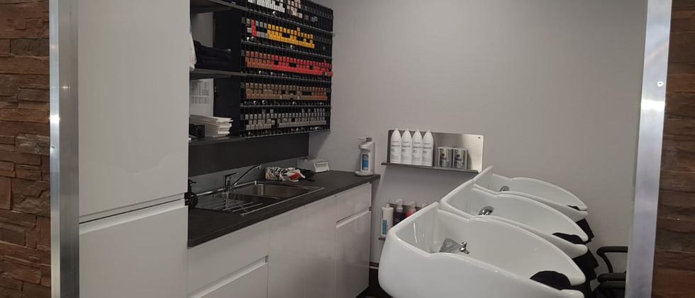 Waschbereich Friseur Bensberg