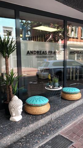 Außenbereich - Andreas Frank Friseure Hamm