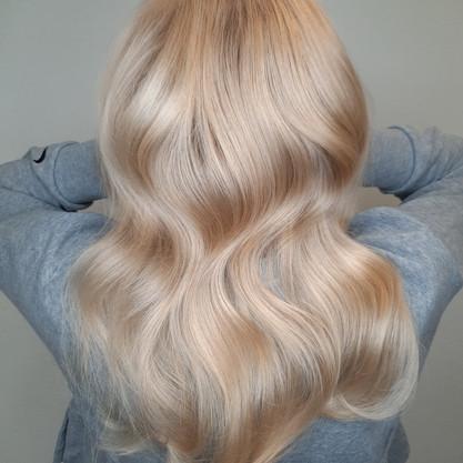 Blonder Farbton