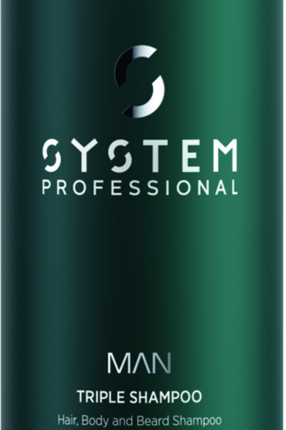 SYSTEM MAN Triple Shampoo- 250 ml