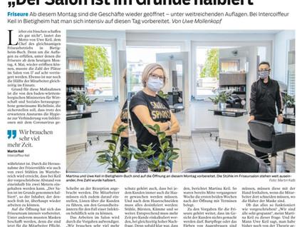 """Hygienemaßnahmen und die Auswirkungen """"Zeitungbericht"""""""