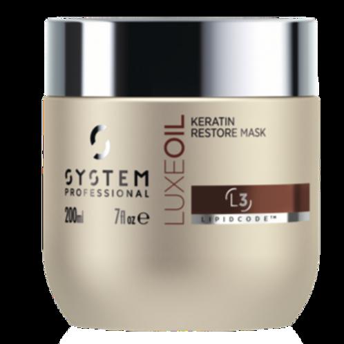 SP LuxeOil Keratin Mask- 200 ml