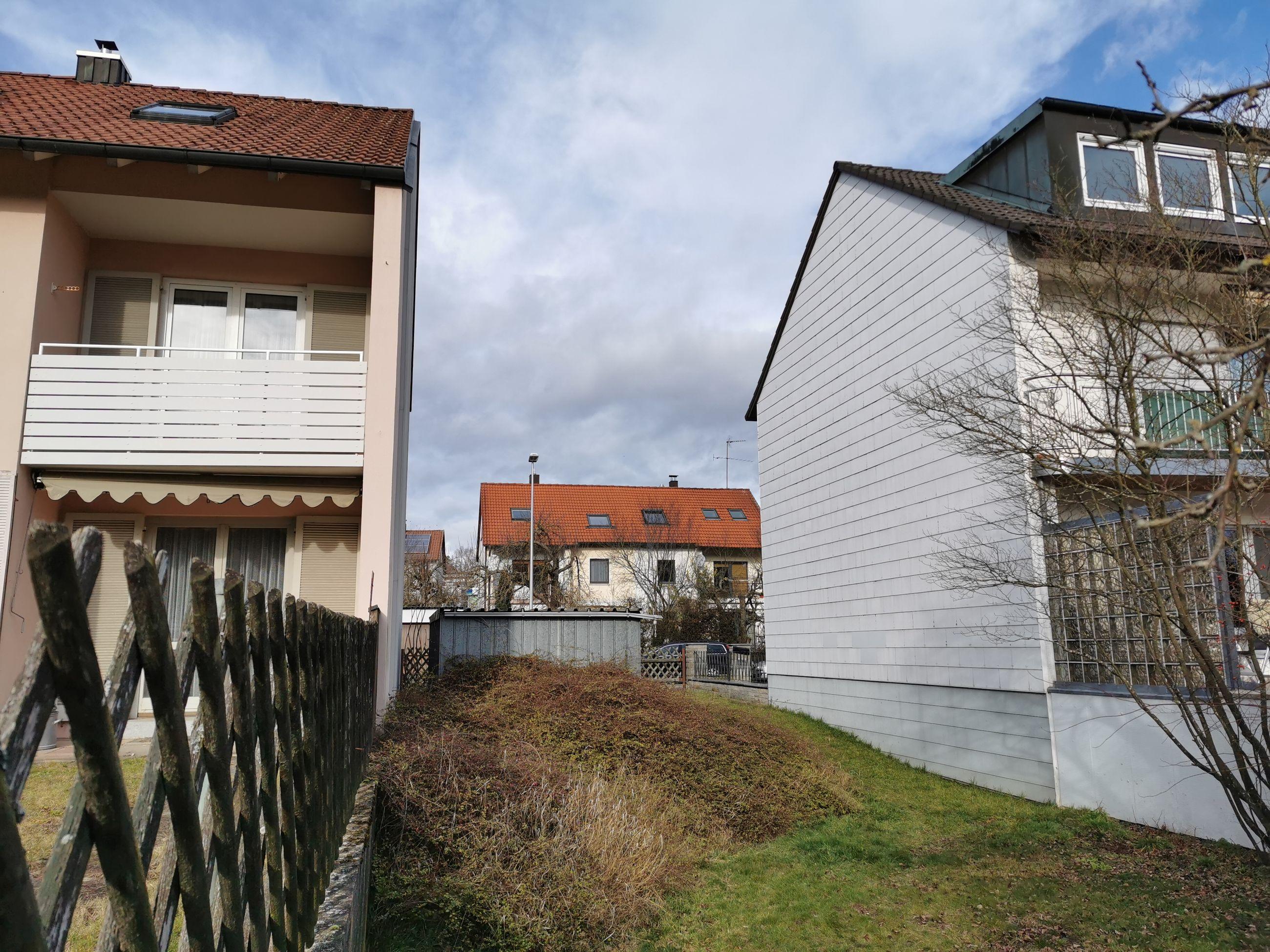 Baulücke in Ansbach