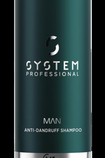 SYSTEM MAN ANTI-DANDRUFF SHAMPOO M1D 250ml  - 250 ml