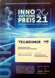 Innovationspreis Friseur 2021 Göttingen