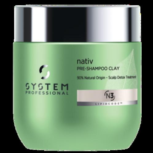 SP Nativ Pre-Shampoo Clay- 200 ml