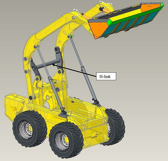 CNH Industrial front-end loader optimized with Wolf Star Technologies True-Load