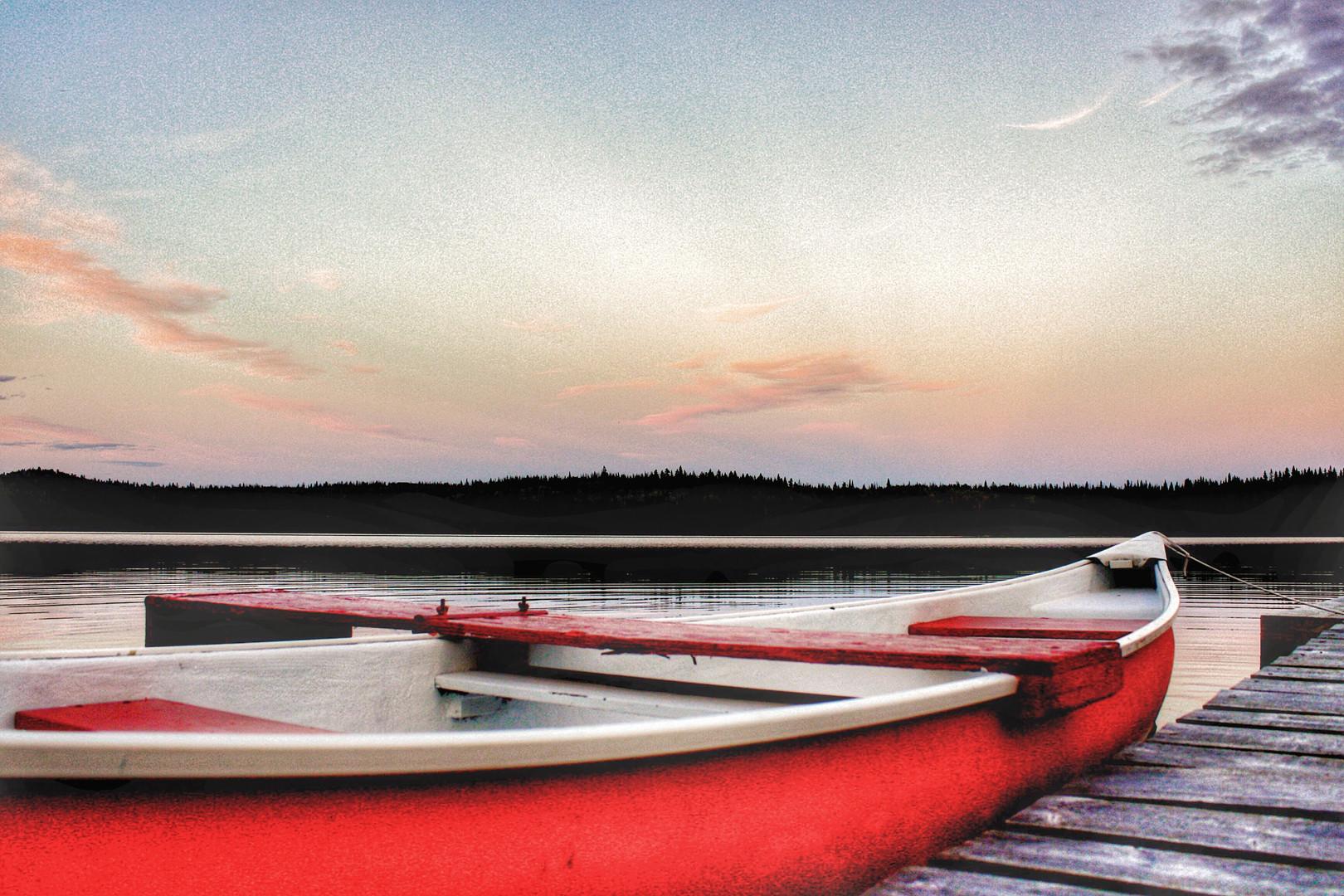 Sunset Cruise, Eugene Lake BC- Denise Wa