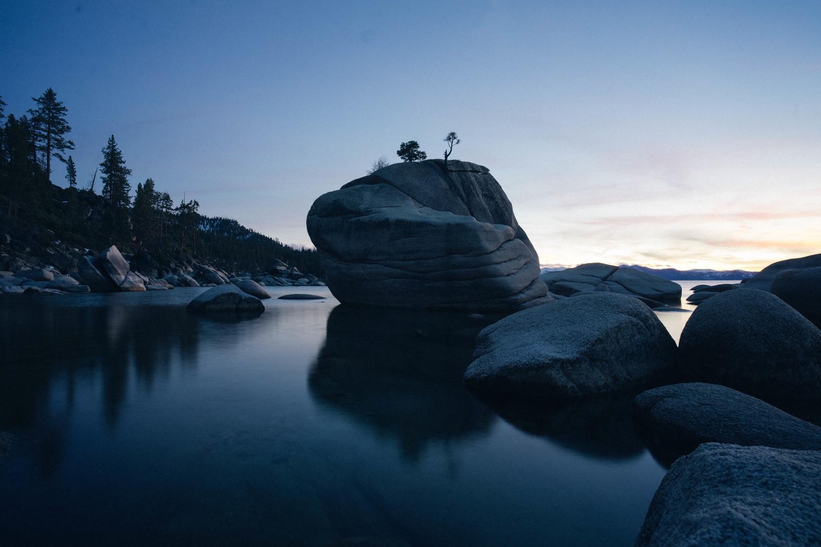 Shoreline Boulders - Anonymous Artist.jp