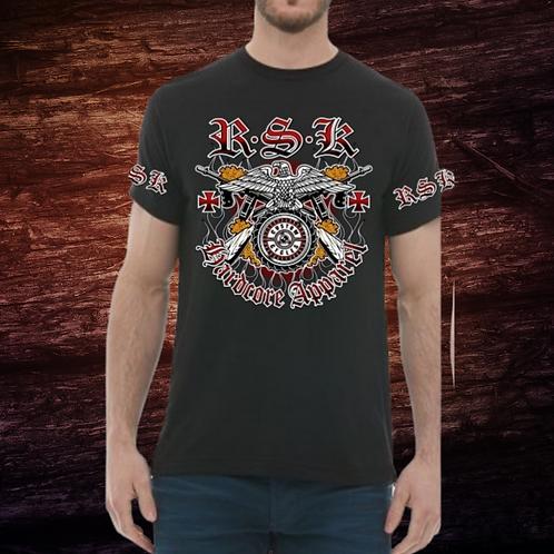 RSK Eagle Wheel | Short Sleeve T-Shirt | 100% Pre-Shrunk Cotton