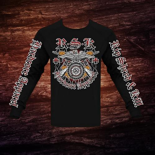 RSK Eagle Wheel | Long Sleeve T-Shirt | 100% Pre-Shrunk Cotton