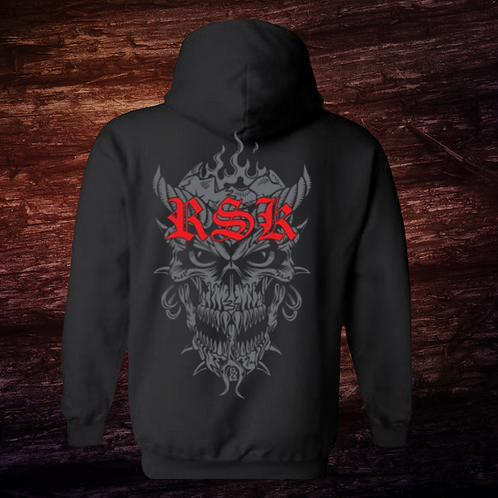 RSK Ghost Face | Hoodie | 50/50 Cotton Polyester Blend