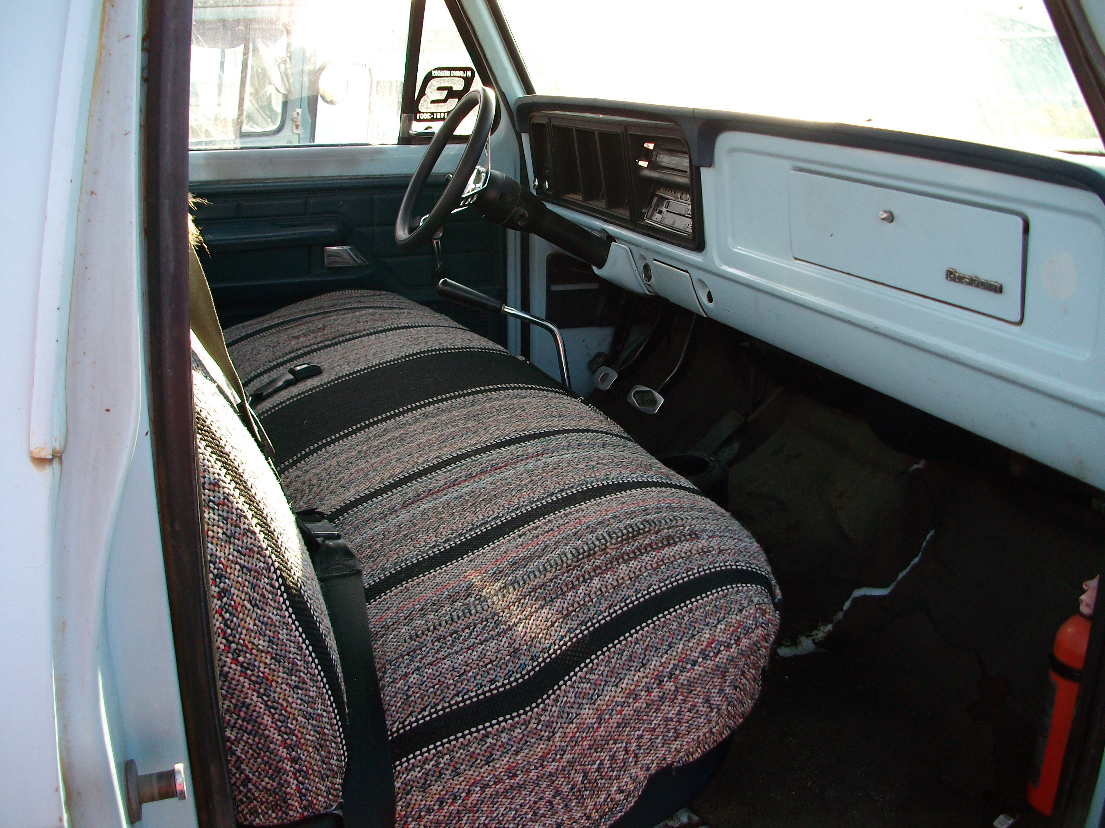 1976 Cab View Passenger Side