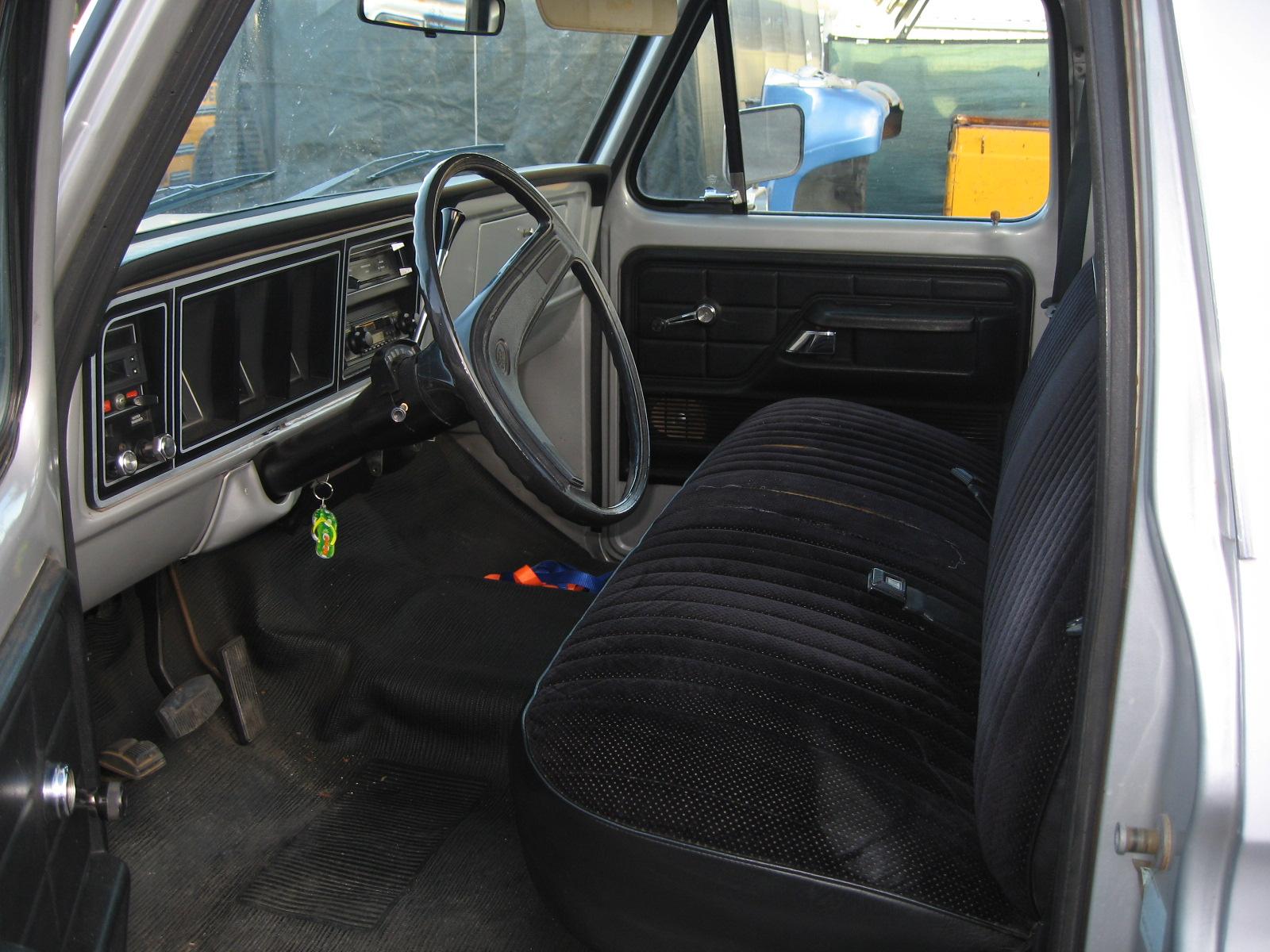 Inside Cab