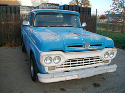 1960 F100 Front Left View