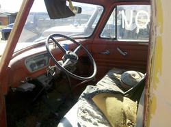 1954 F250 Inside Cab View