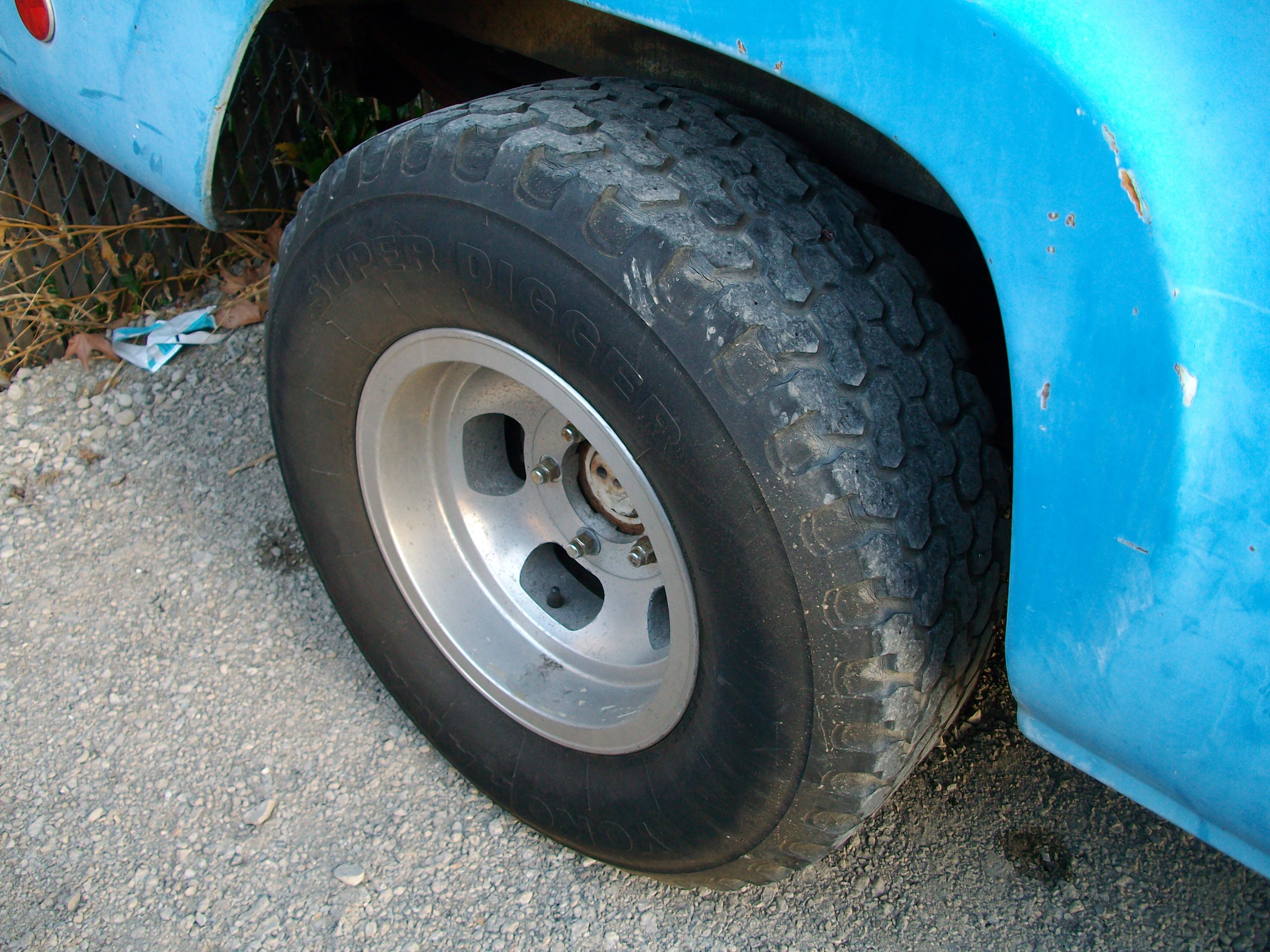 1960 F100 Wheels