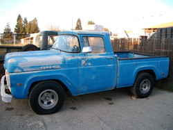 1960 F100 Right Side View