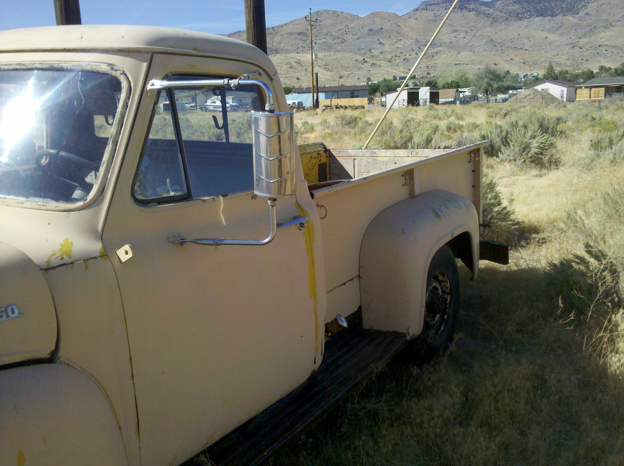 1954 F250 Right Side View