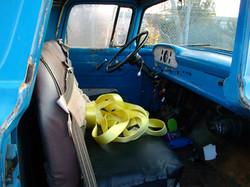 1960 F100 Inside Cab