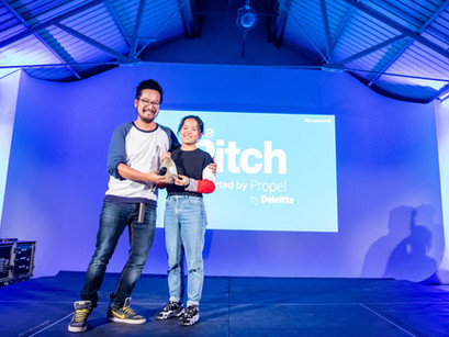 Yang Liu wins Deloitte People's Choice Award