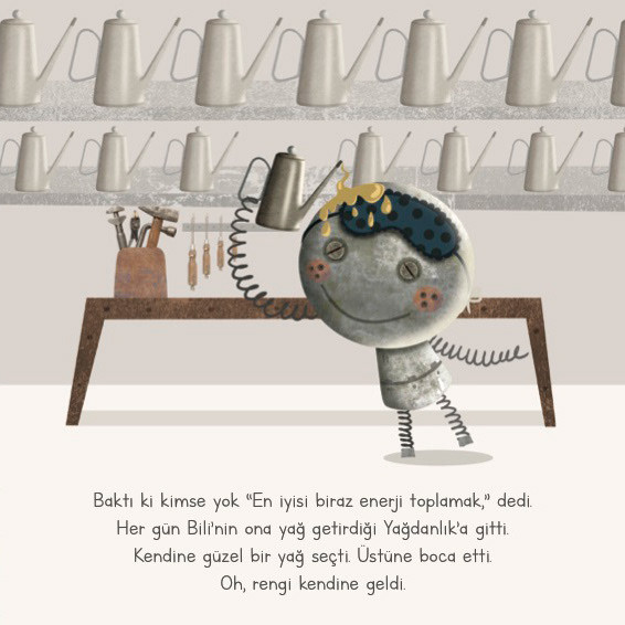 Tembel Teneke / Children's Book Illustration
