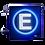 Thumbnail: Painel de LED para estacionamento 80x80 - Dupla face