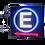 Thumbnail: Painel de LED para estacionamento 60x60 - Face única com seta para a esquerda