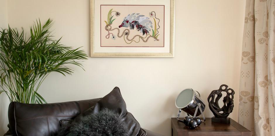'Hedgehog in Grey No. 1'