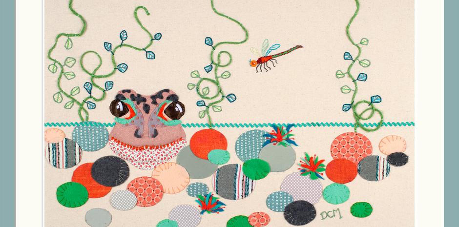 'The Common Tangerine Frog'