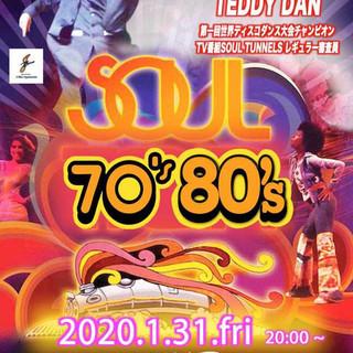 2020.1/31 SOUL 70'~80's