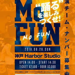 2018.8/26 JBO Presents Mo FUN in 関西
