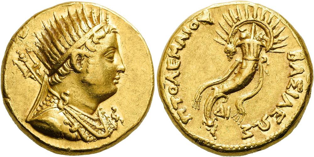 Griechen. Königreich der Ptolemäer.